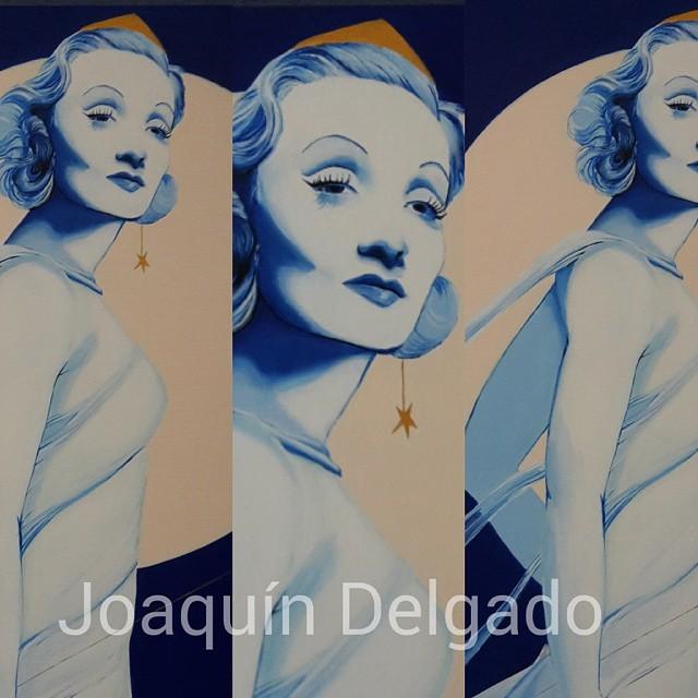 Joaquin delgado PopArt Marlene