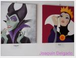 maléfica blancanieves joaquin delgado pop art Disney. Malefica